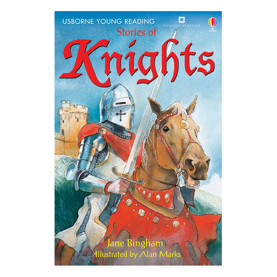 Usborne Young Reading Series One: Stories of Knights + CD