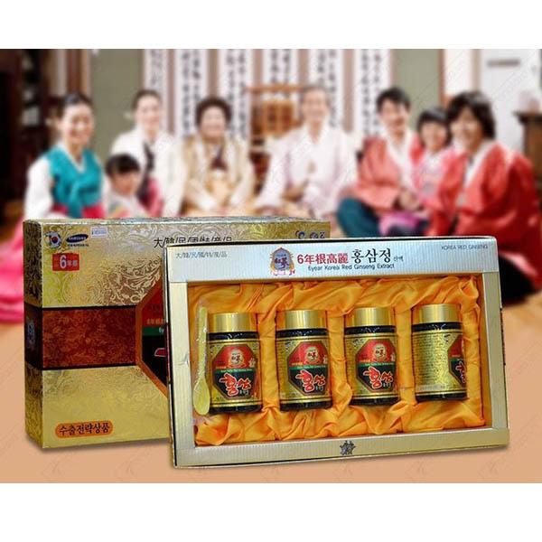 Thực phẩm chức năng Cao hồng sâm Kanghwa Hàn Quốc - 4 lọ