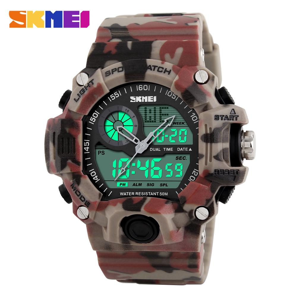 Đồng hồ đeo tay Skmei - 1029CMRD-Hàng Chính Hãng