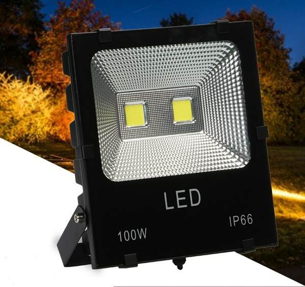 Bộ 2 đèn Led pha COB 100W