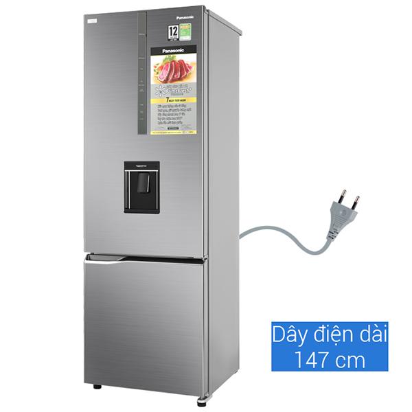 Tủ lạnh Panasonic Inverter 410 lít NR-BX460WSVN - Hàng chính hãng (Chỉ giao tại Thái Bình)
