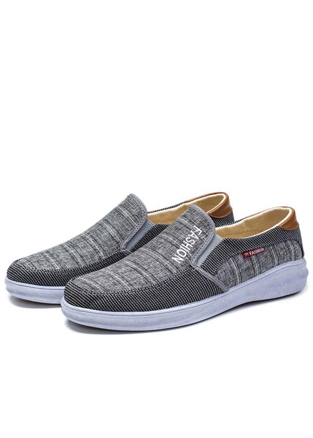 Giày Mọi Nam Mẫu Mới 2019 Pettino KL03 - Màu Xám