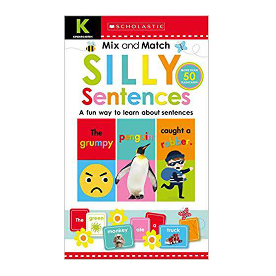 Scholastic Early Learners : Kindergarten Mix and Match Silly Sentences