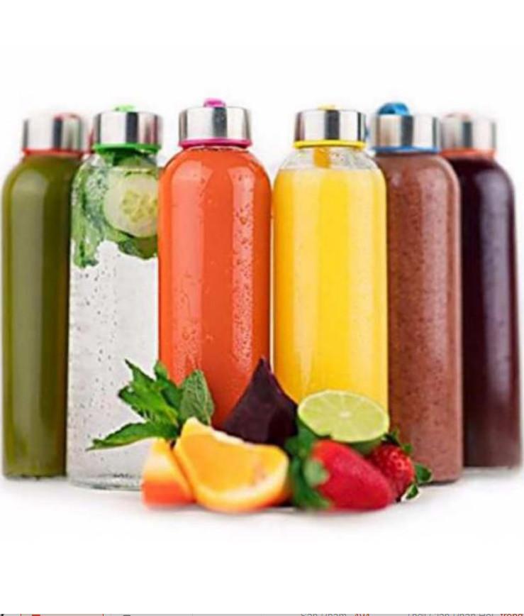 Combo 10 Chai Thủy Tinh Đựng Sữa Hạt - Thực Phẩm - Nước Ép trái cây (500ML)