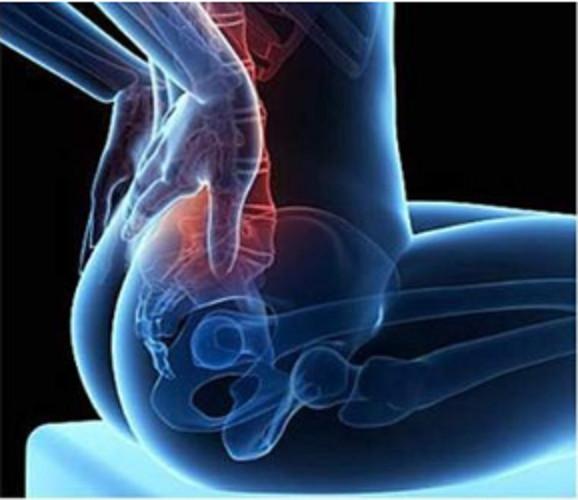 Máy massage giúp giãn cơ bắp, tiện lợi - Fascial Gun