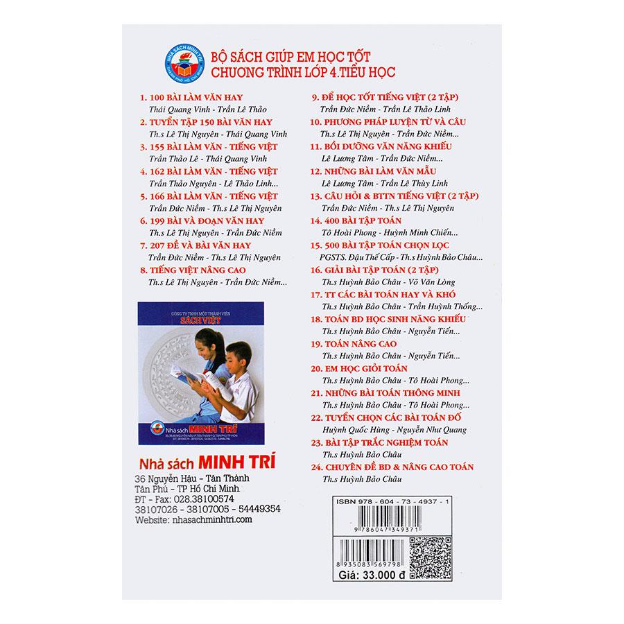 Tuyển Tập Các Bài Toán Hay Và Khó - Bồi Dưỡng Học Sinh Khá - Giỏi Lớp 4