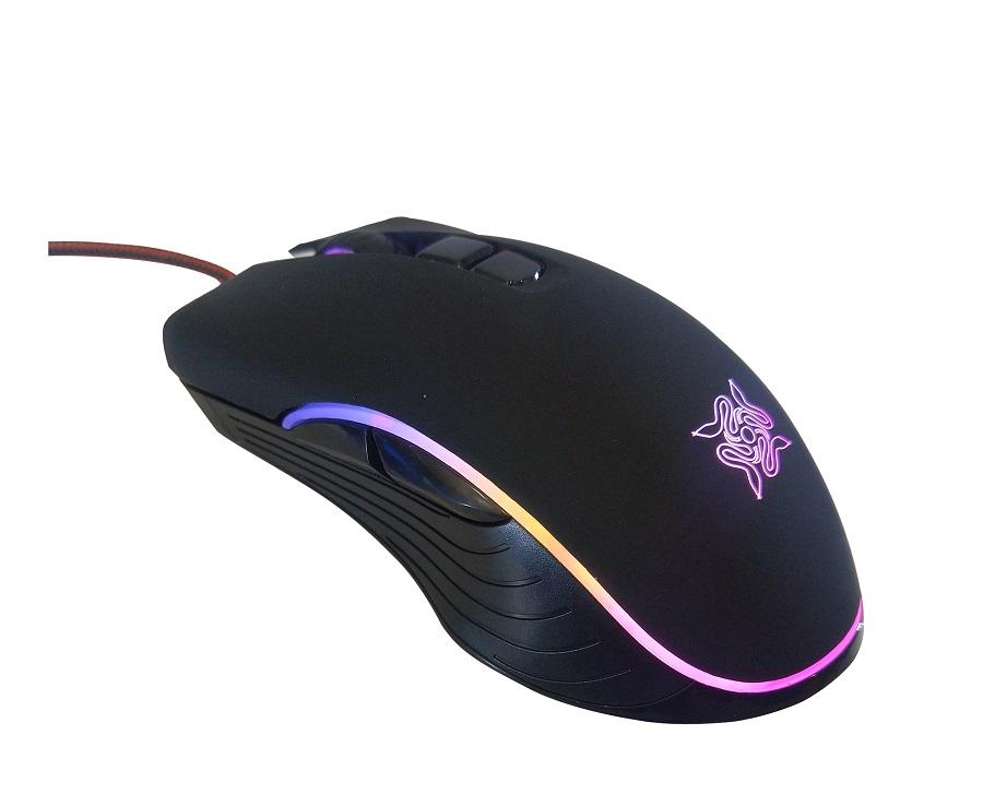 Chuột Bosston M710 Chuyên Game LED RGB - Hàng Chính Hãng