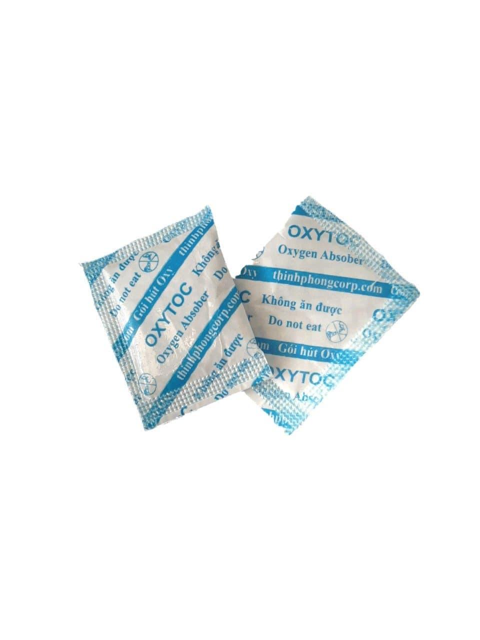 200 gói hút oxy loại 30cc dùng cho bánh kẹo, thực phẩm và ngũ cốc