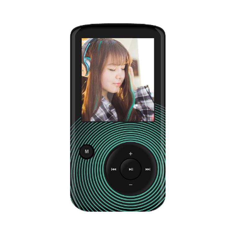 Máy nghe nhạc Lossless Bluetooth Aigo MP3-209 (Tặng thẻ nhớ 8Gb và tai nghe)-Hàng chính hãng
