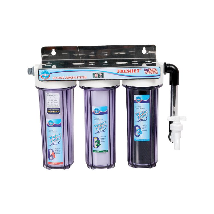 Máy lọc nước sinh hoạt và tiệt trùng  Hàn Quốc  FRESHET chính hãng FR-103V