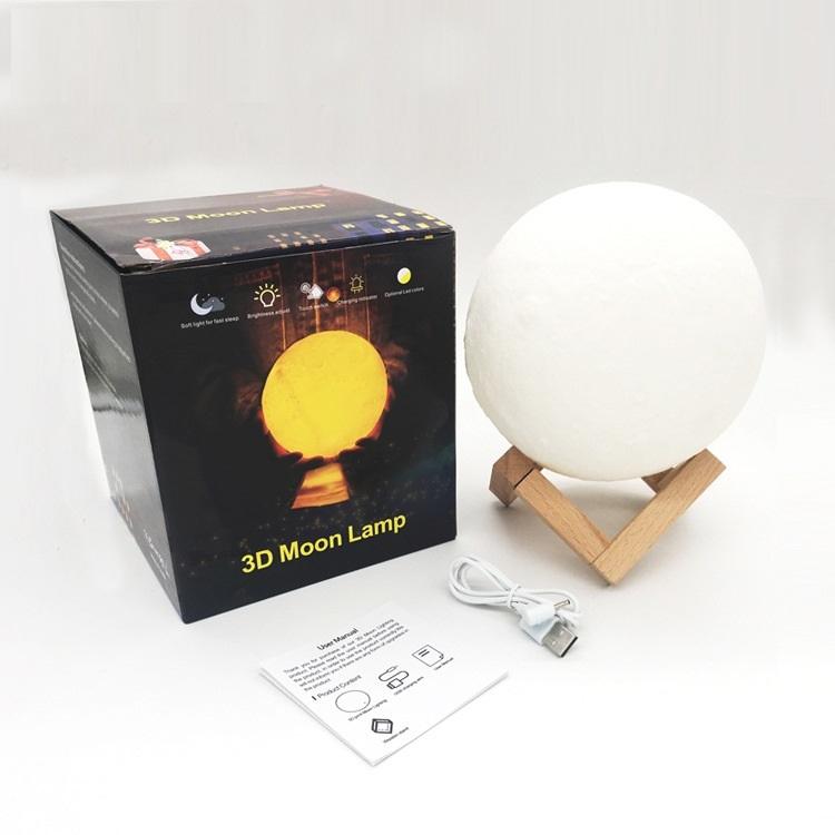 Đèn ngủ mặt trăng Moon Light 3D