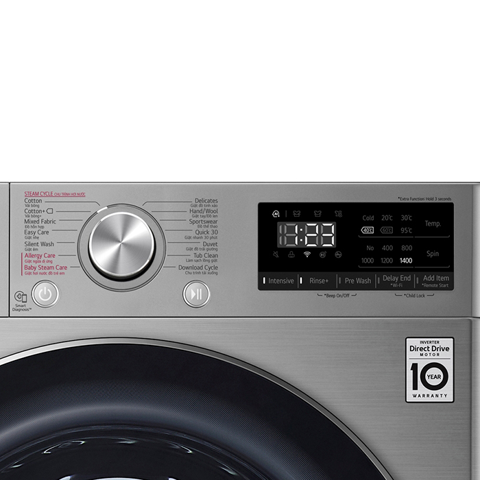 Máy Giặt LG Inverter 8.5 Kg FV1408S4V - Chỉ Giao HCM