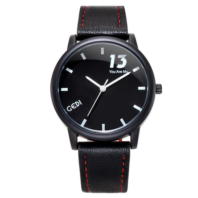 Đồng hồ unisex dành cho nam nữ dây da GEDI-113 trẻ trung - Hàng chính hãng