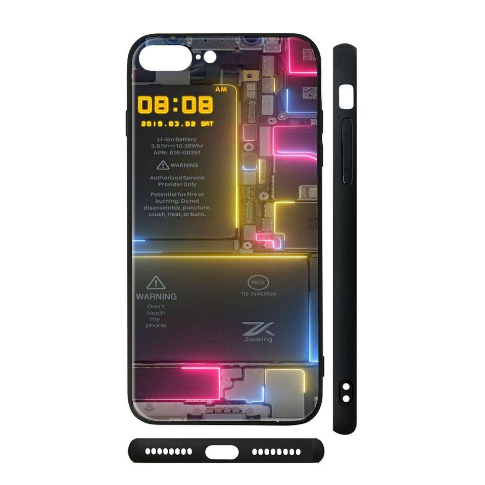 Ốp kính cho iPhone in hình trong suốt - tsdt005 có đủ mã máy - iPhone 6 - 6s