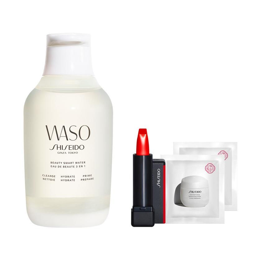 Bộ sản phẩm Nước chăm sóc da Shiseido Waso Beauty Smart Water 250ml