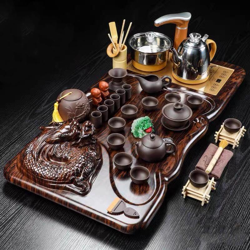Bàn trà điện đa năng hình rồng
