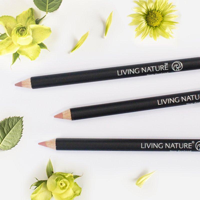 Chì kẻ viền môi Living Nature Morning Sun - màu cam đất