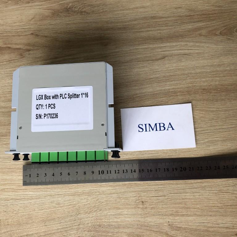 1 Bộ chia quang 1x16 ngõ Optical Splitter dạng TUBE/ABS/GLX
