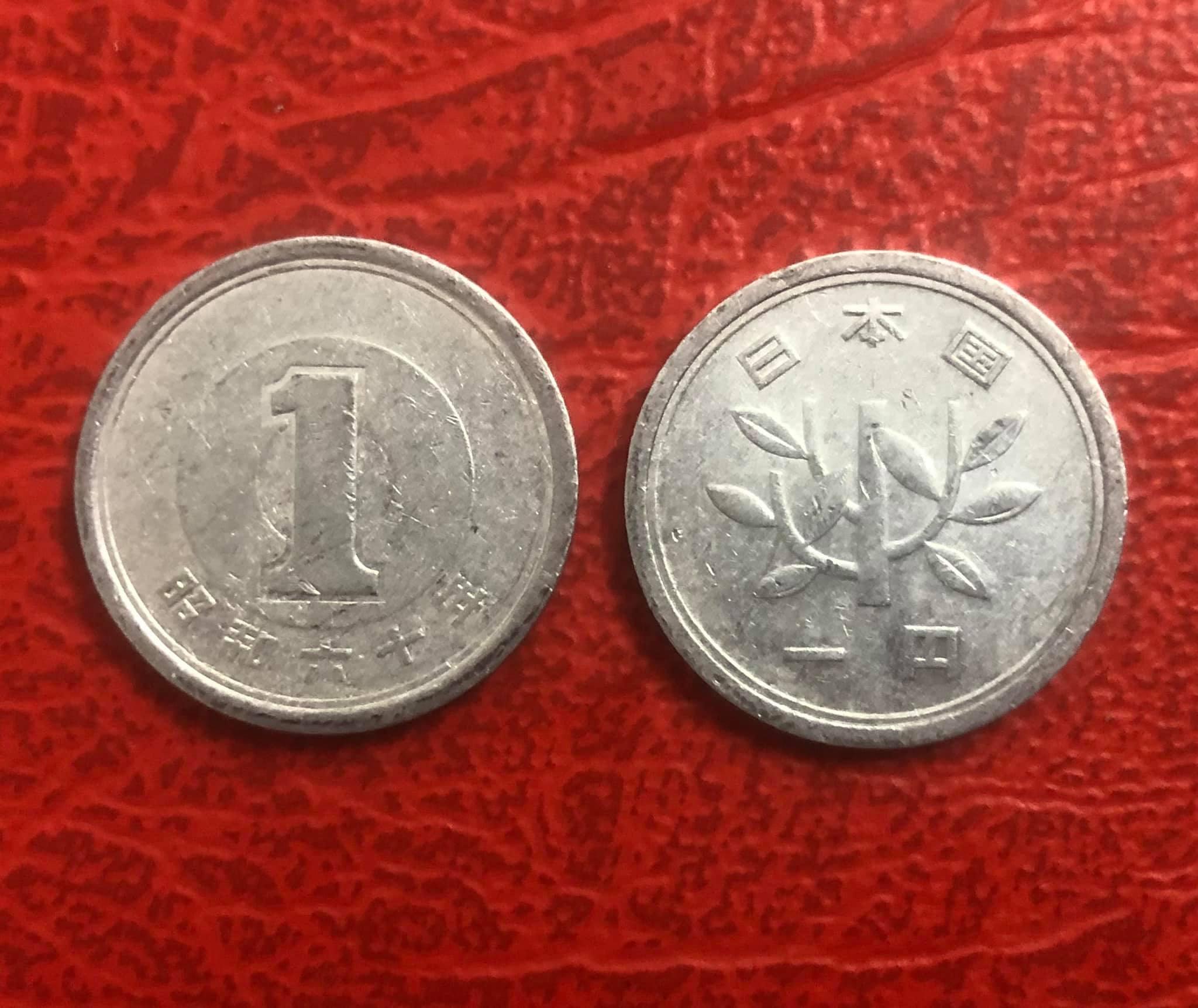 Đồng xu Nhật bản 1 yên Mới