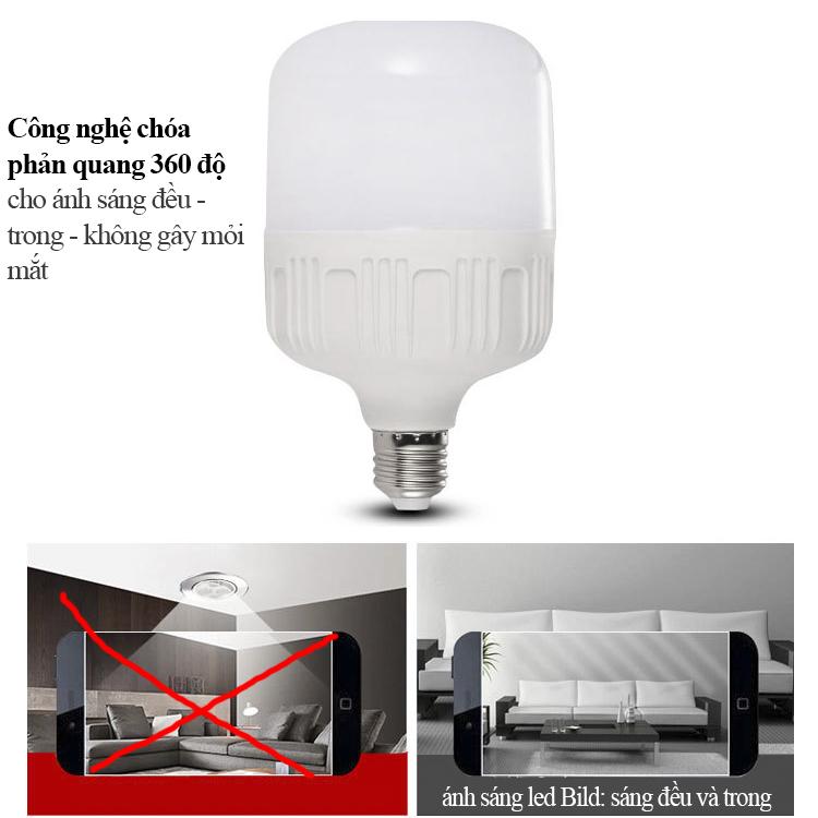 Đèn LED Bulb 30W, Tiết kiệm điện 90% thọ 50 ngàn giờ