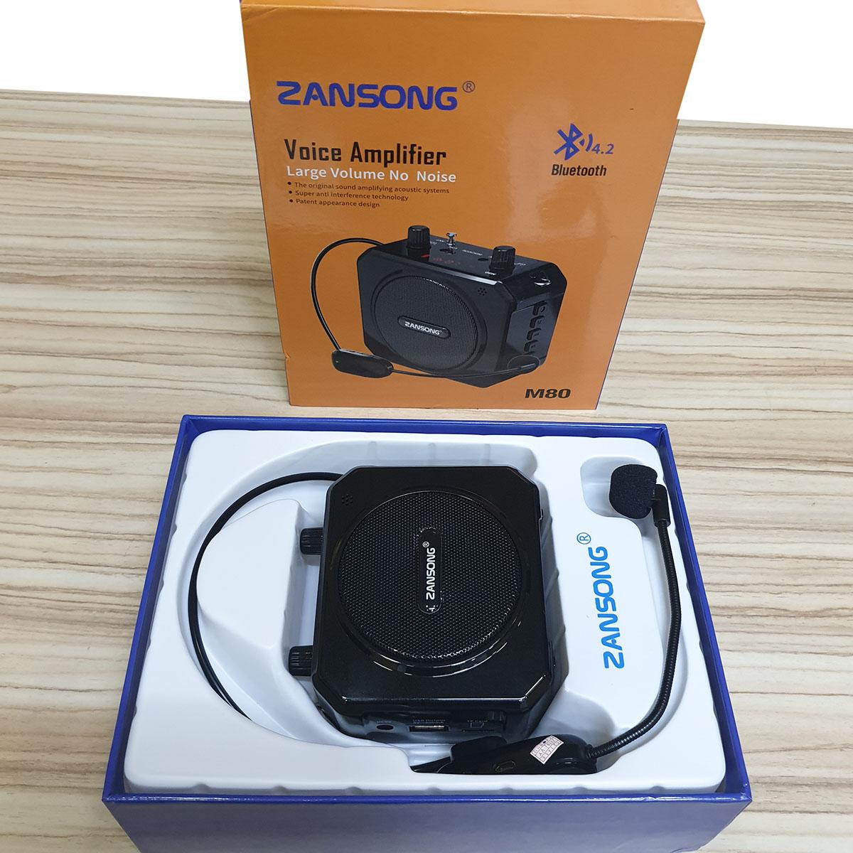 Máy trợ giảng Zansong M80  - Hàng Chính Hãng