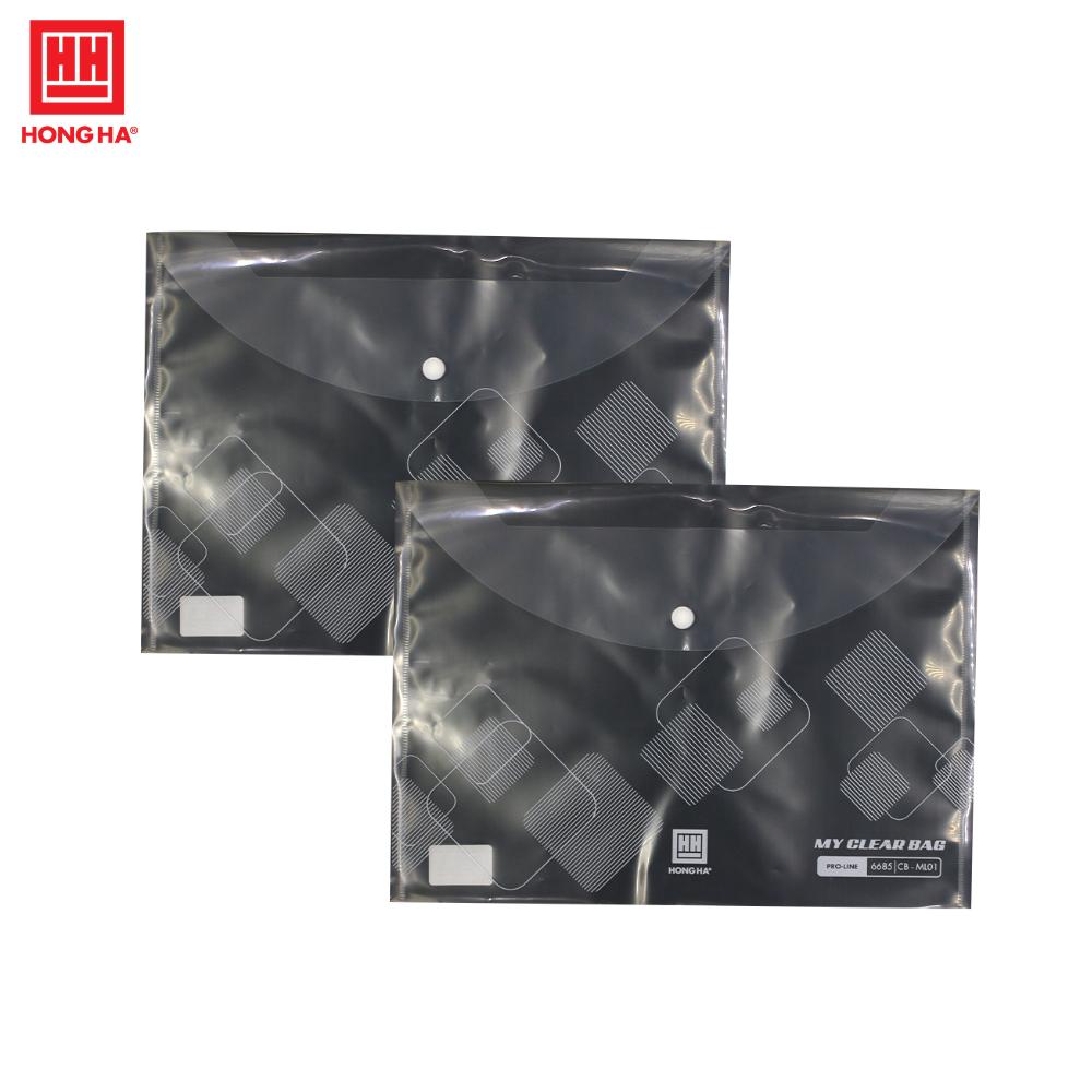 Combo 10 chiếc túi Myclear A4 Hồng Hà - 6685