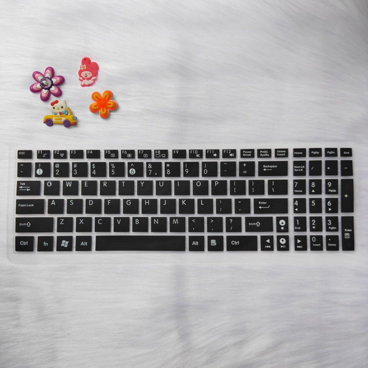Miếng silicon phủ bàn phím cho laptop Asus 15 inch