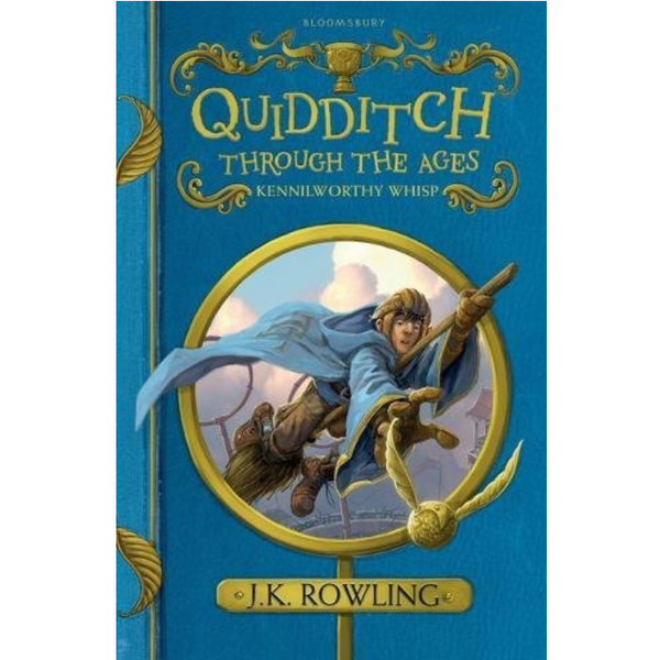 Harry Potter: Quidditch Through The Ages (Paperback) - Quidditch qua các thời đại (English Book)