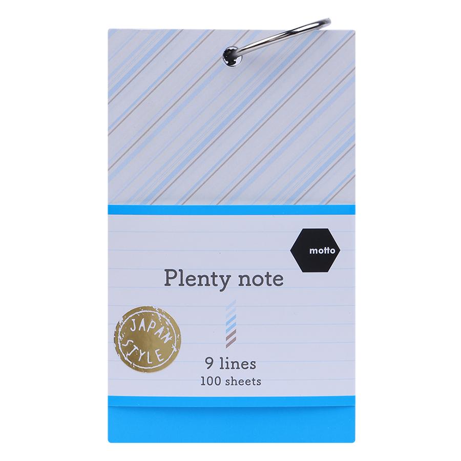 Giấy Note Motto Plenty CYPN75-9L