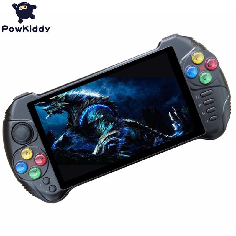 Máy chơi game cầm tay Android Powkiddy X15 ( Màn hình 5.5 inches, RAM 2GB, ROM 32GB) - Hàng chính hãng