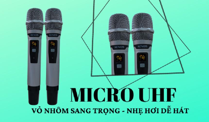 Loa karaoke mini công suất lớn KSnet550 Tích hợp đầu karaoke Android 4k, Điều khiển giọng nói - Chính Hãng Acnos
