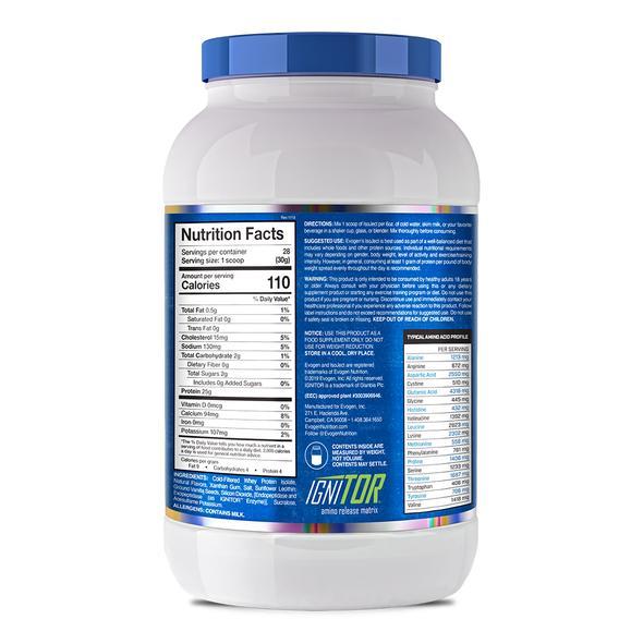 Combo Isoject Whey Protein Isolate, Hỗ trợ tăng cơ đẳng cấp của Evogen - Kèm bình lắc Evogen (Màu Đen)