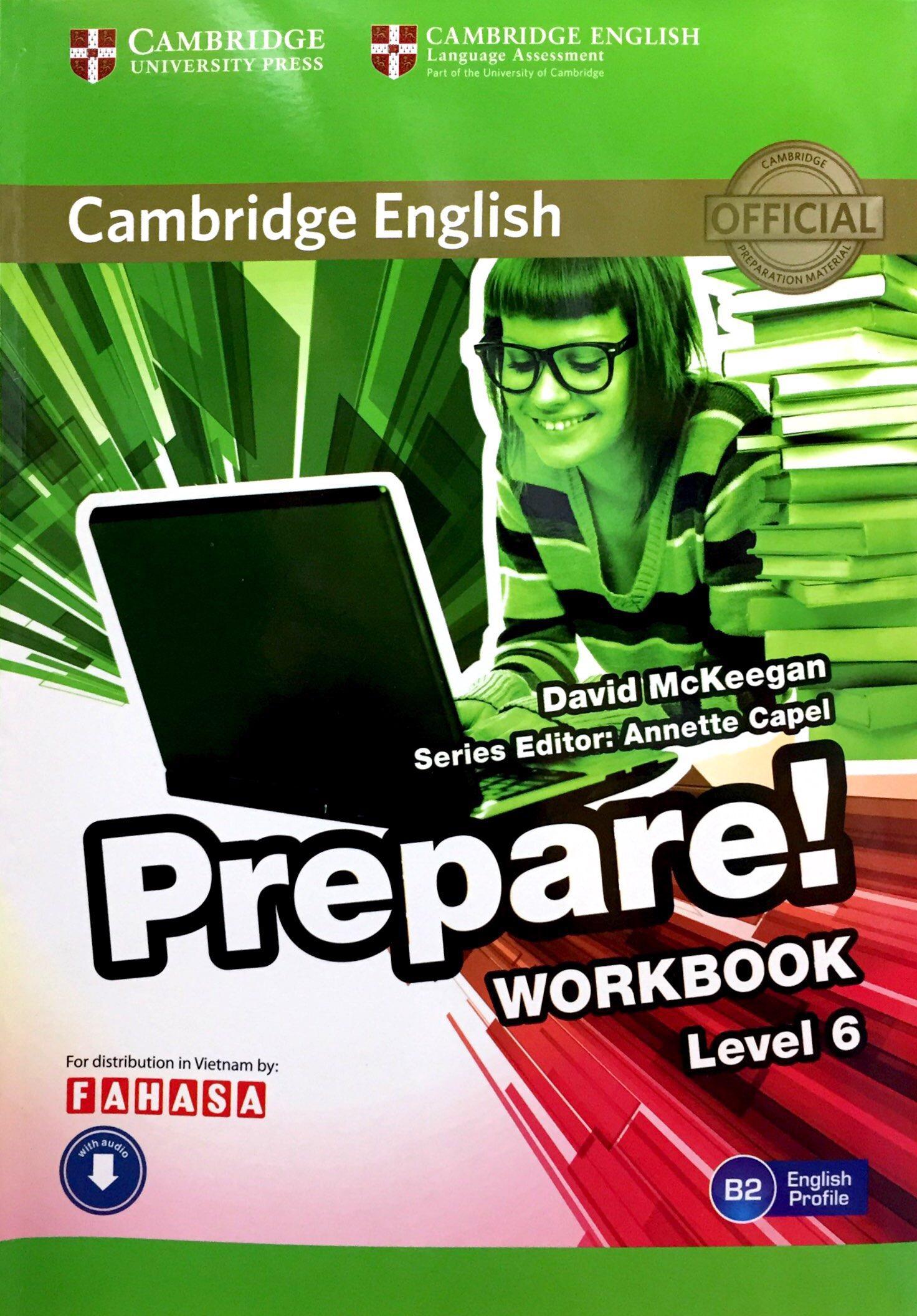 Cambridge English Prepare! Level 6 Workbook With Audio