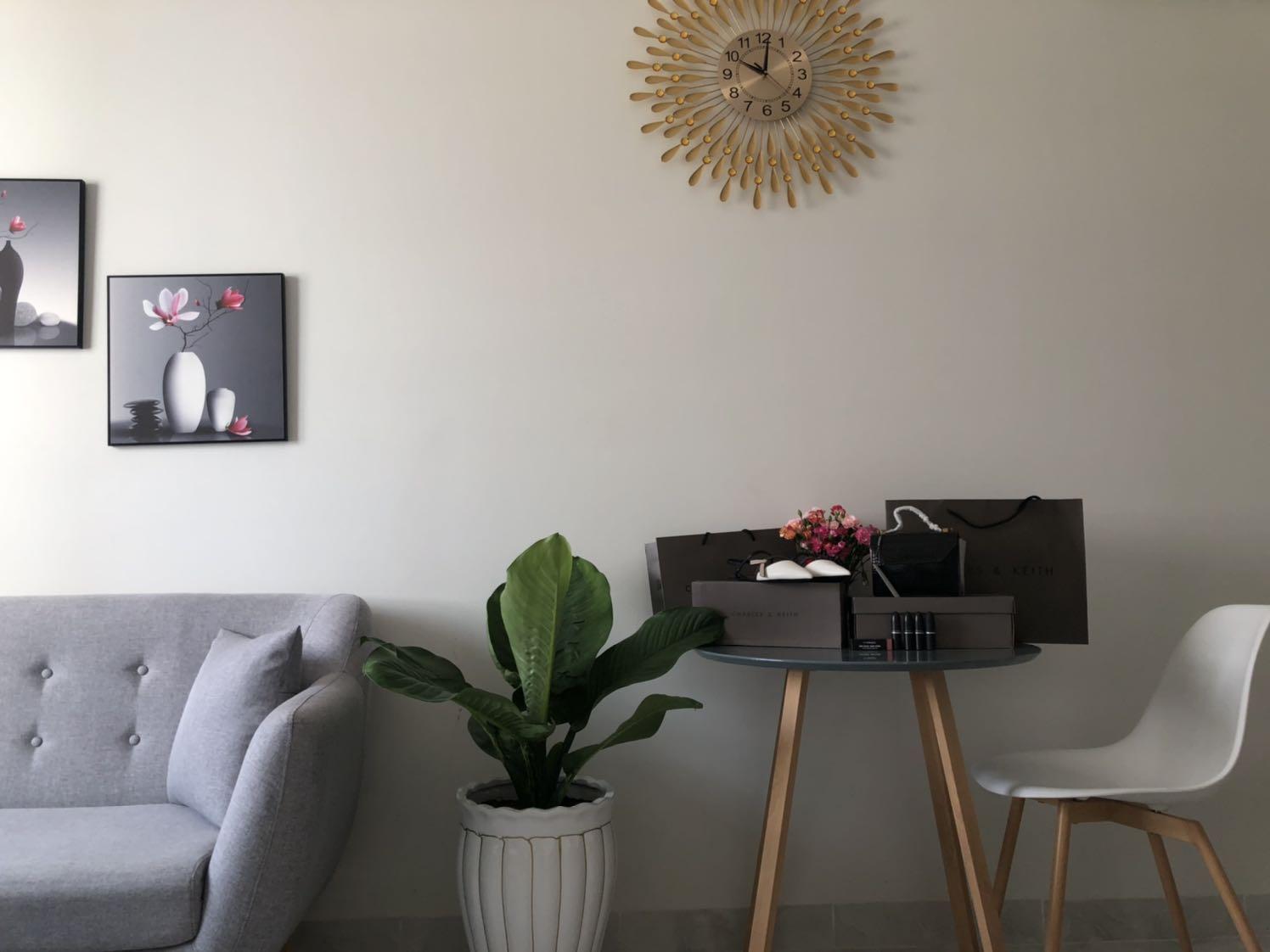 Đồng Hồ Treo Tường ROMANA Vintage loại to phong cách cá tính - vật liệu cao cấp, tạo không gian mới lạ cho nội thất