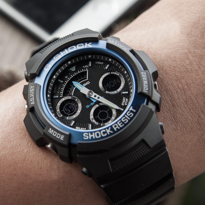 Đồng hồ nam dây nhựa Casio G-SHOCK AW-591-2ADR