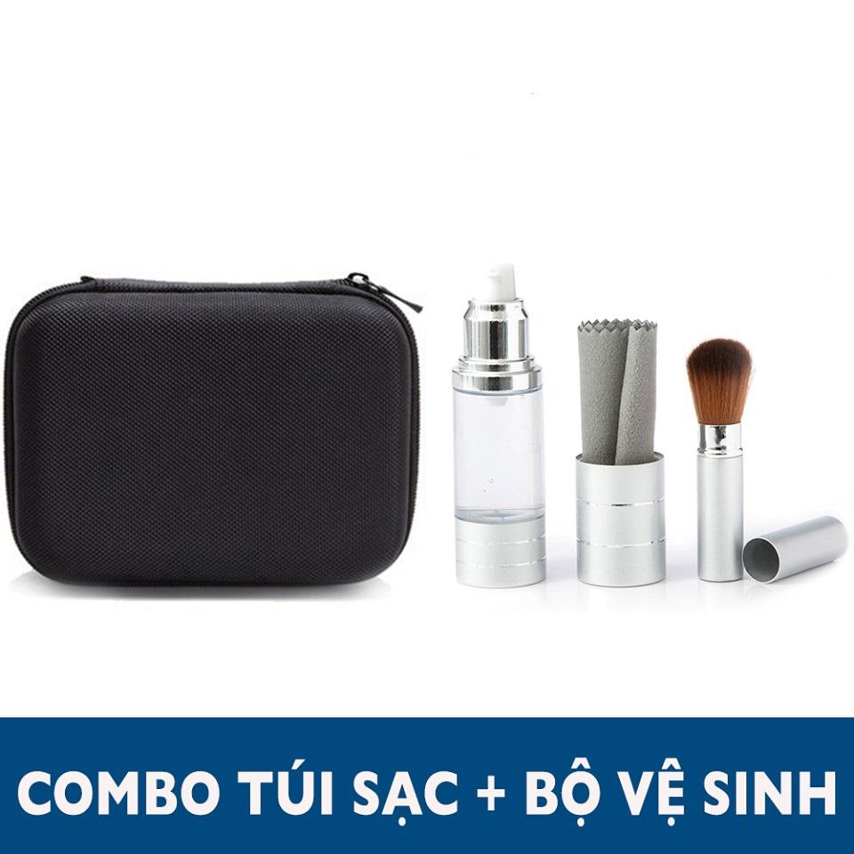 Combo  bộ vệ sinh Macbook và túi đựng sạc
