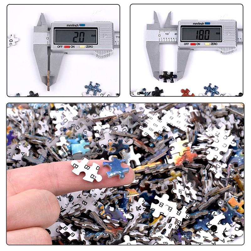Bộ Tranh Ghép Xếp Hình 1000 Pcs Jigsaw Puzzle Tranh Ghép (75*50cm) Mèo Con Bản Đẹp Cao Cấp