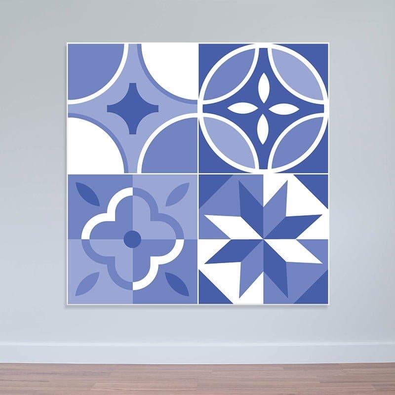 Decal dán tường mẫu mới | Decal hoa văn màu sắc nhã nhặn WD159