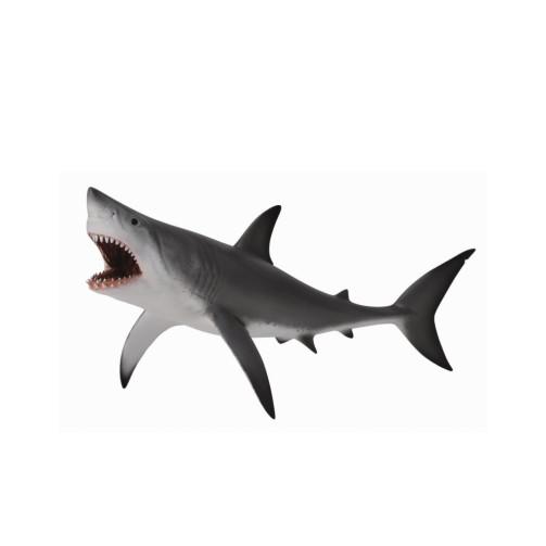 Mô hình thu nhỏ: Cá Mập Trắng - Great White Shark - Open Jaw, hiệu: CollectA, mã HS 9652080[88729] -  Chất liệu an toàn cho trẻ - Hàng chính hãng