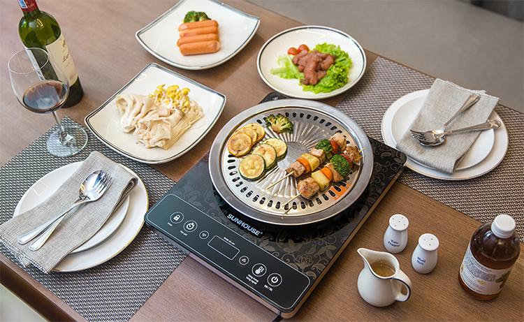 Bếp Hồng Ngoại Cảm Ứng Sunhouse SHD6020 - Hàng chính hãng