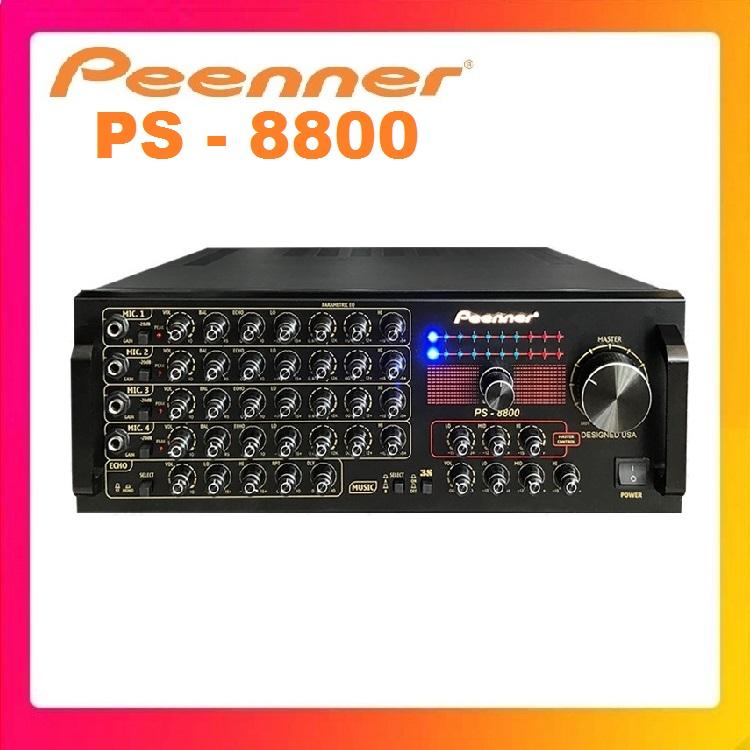 Amply Karaoke Công suất lớn Peenner PS 8800 - Hàng Chính hãng cao cấp