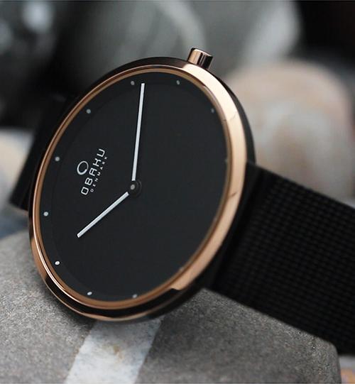 Đồng hồ đeo tay hiệu Obaku V230LXMBMB