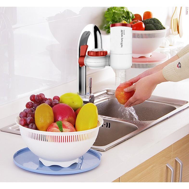 Lọc nước tại vòi (loại bỏ 99,8% tạp chất và vi khuẩn)