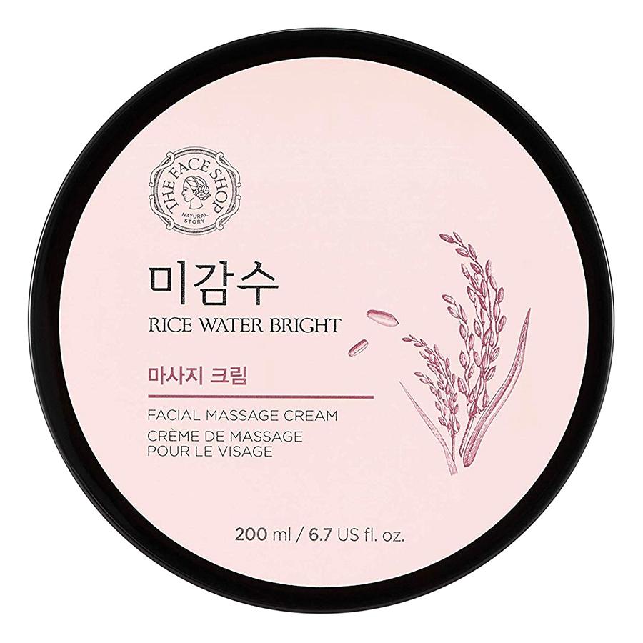 Kem Massage The Face Shop Rice Water Bright Massage Cream 200ml