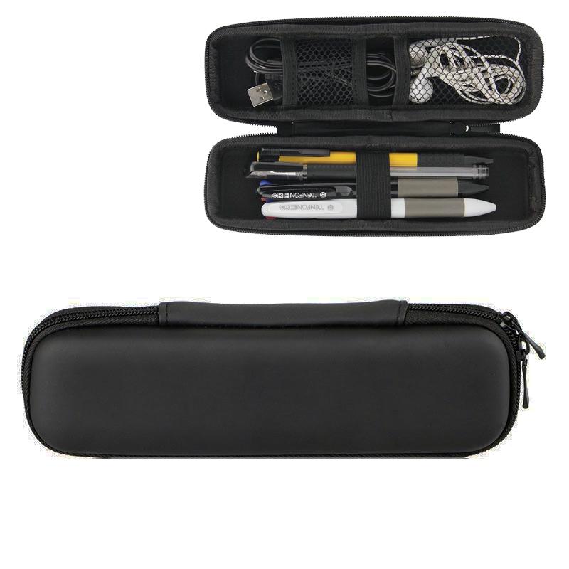 Hộp túi phụ kiện công nghệ SmileBox form cứng đựng dây cáp sạc, tai nghe, bút cảm ứng Apple Pencil cầm tay nhỏ gọn- Hàng chính hãng