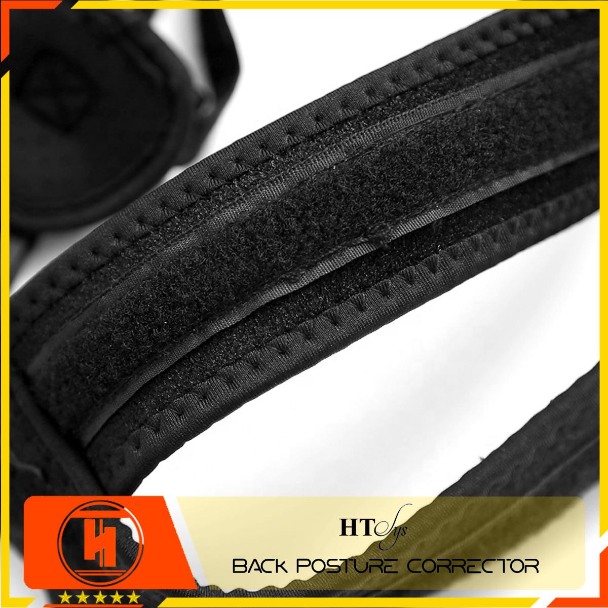 Đai chống gù lưng cao cấp HT SYS Back Posture Corrector - Freesize - Màu đen