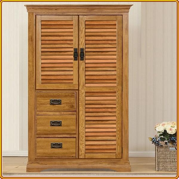 Tủ áo 2 Cánh + 3 Hộc Trái Oak Juno Sofa