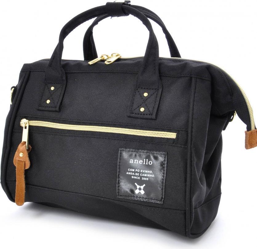 Túi đeo chéo ANELLO đeo 2 kiểu cỡ nhỏ AT-H0851 - Màu Đen