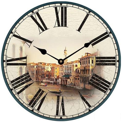 Đồng hồ treo tường phong cách cổ MS 35