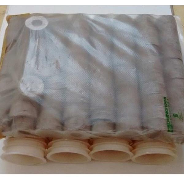 100 rọ nhựa thủy canh 6.5x6.5cm và 100 viên nén Batrivina